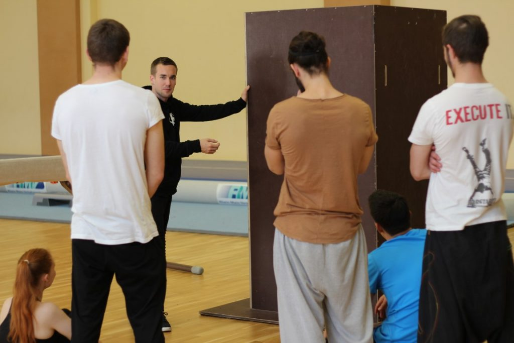 Parkour Lernen Workshops Coaching Experte Einleitung